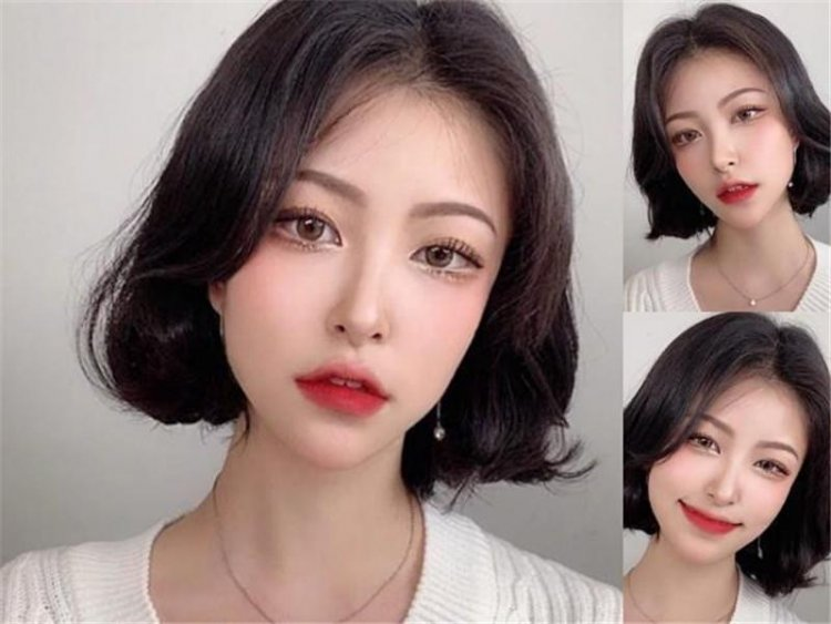 2020超火的韩系短发 修颜又养眼让你的好感度倍增